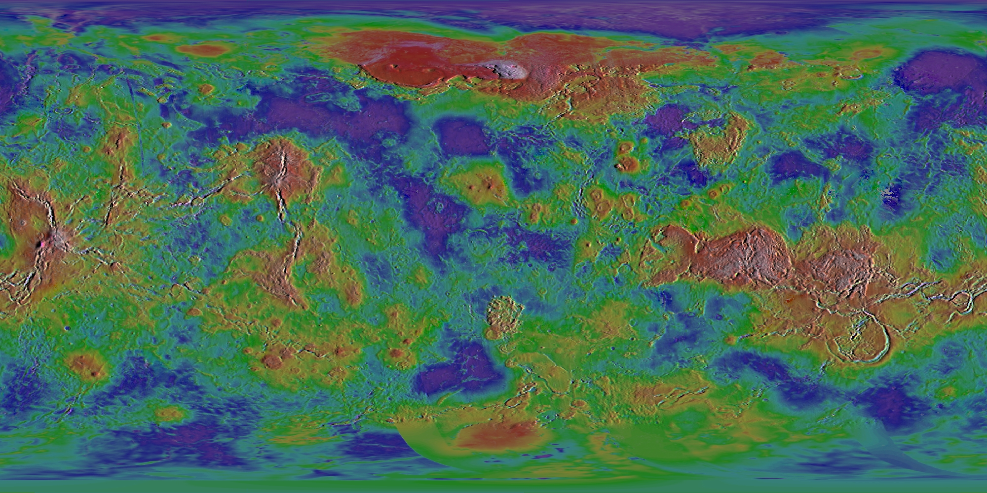 Steve Albers' Planetary Maps (Global Images) on